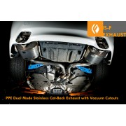 PPE IS-F STAINLESS STEEL DUAL EXHAUST