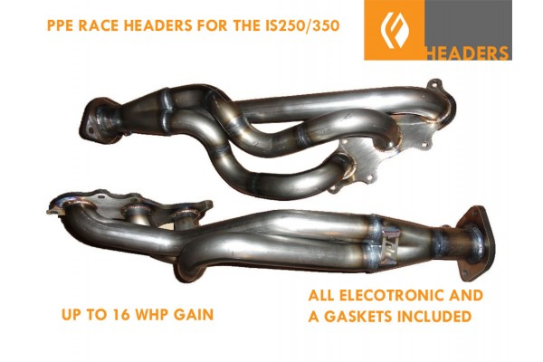 PPE IS250/350 GS350, RC350 HEADERS