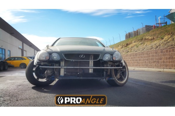FIGS PROANGLE STEERING KIT FOR THE 2GS/ARISTO AND SC430 CHASSIS