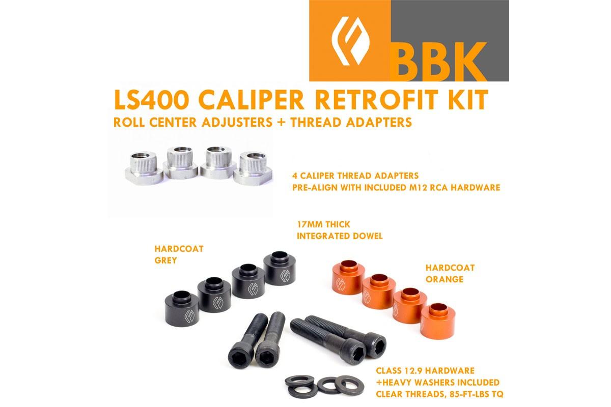 IS300 X-Chassis JZX90 JZX100 JZX110 LS400 Caliper BBK Retrofit kit V2