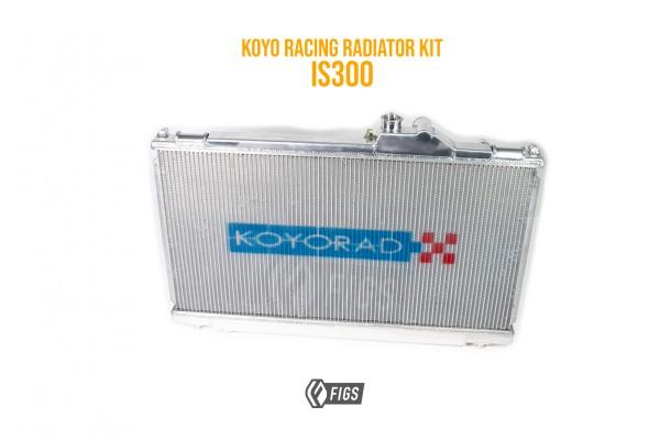 IS300 RACING RADIATOR MANUAL TRANS 02-05