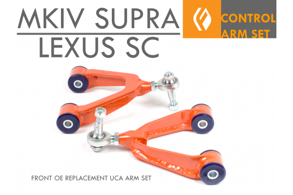 FIGS MKIV SUPRA SC300 SC400 OE REPLACEMENT FRONT UCA POLY