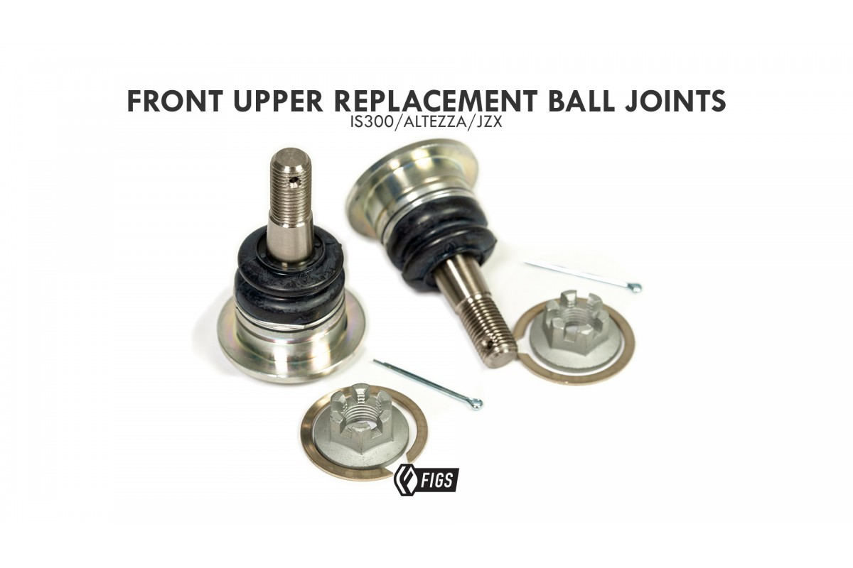 Front Upper Control Arm Ball Joint Set of 2  for 2001-2006 Lexus LS430