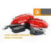ALUMINUM CALIPER UPGRADE FRONT BBK IS300 USING SUPRA TT 323MMX30MM ROTOR