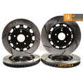 RACINGBRAKE/FIGS 2-PIECE FRONT/REAR COMBO BRAKE ROTORS 08+ IS-F