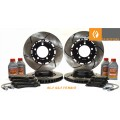 RACINGBRAKE/FIGS 2-PIECE FRONT/REAR COMBO BRAKE ROTORS RC-F GS-F