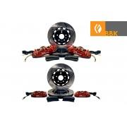 4 CORNER 355MM/330MM 2-PIECE ROTOR BBK IS300 GS300/400/430 LS400 SC300/400/430