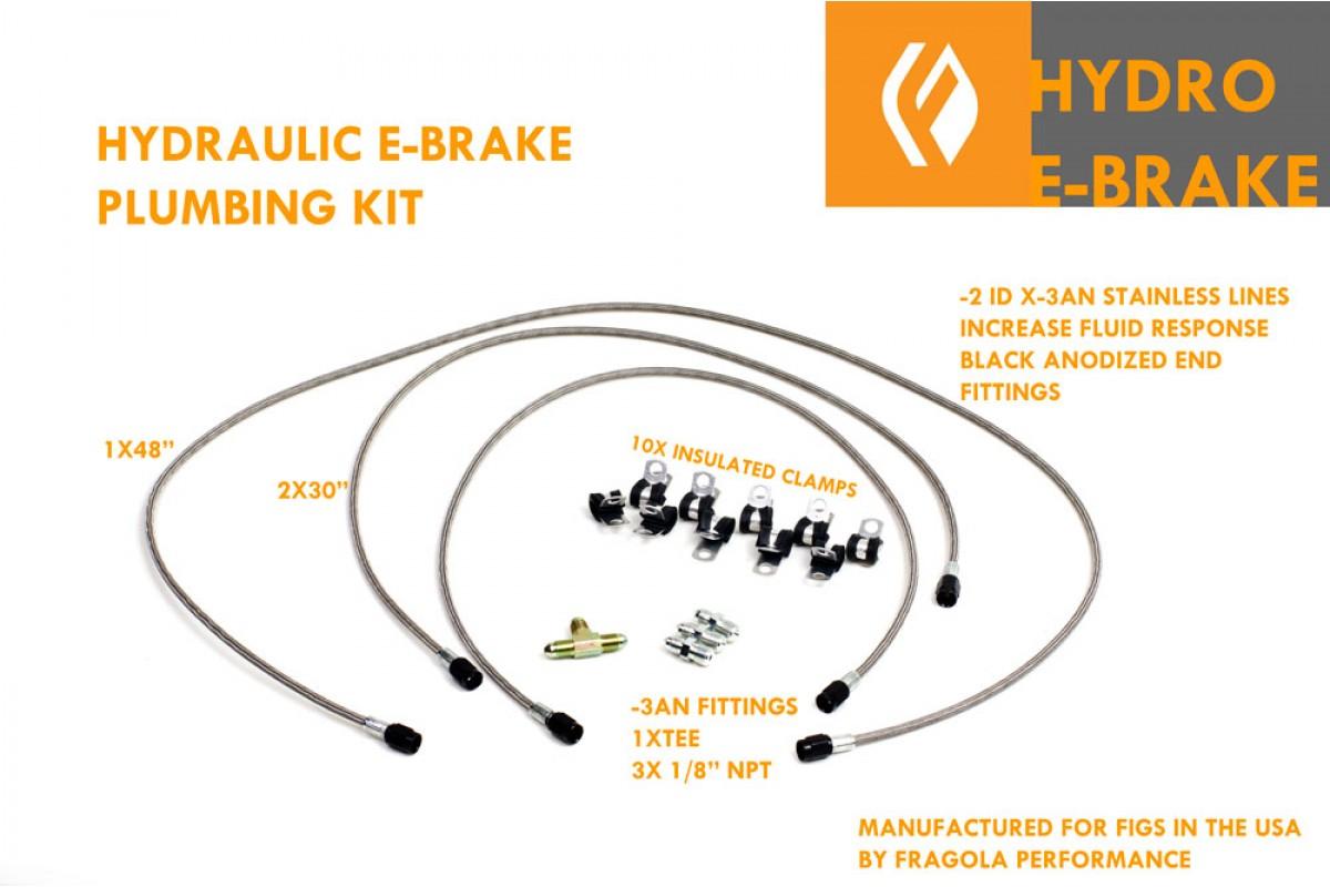 Brake Lines Fittings Catalog : Hydraulic drift e brake kit is gen gs sc