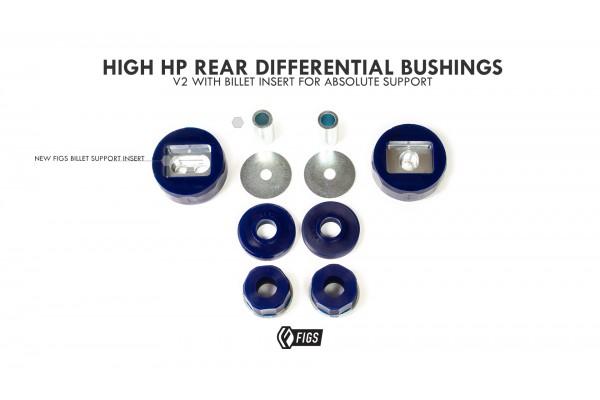GEN2 GS/SC430 HIGH HP REAR DIFFERENTIAL MOUNT POLYURETHANE BUSHING KIT