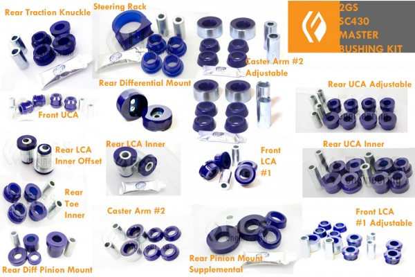 2GS/SC430 MASTER BUSHING KIT