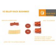 SOLID STEERING RACK BUSHINGS V2 IS300 JZX90 JZX100 JZX110