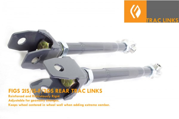 FIGS TRAC LINKS GEN2 IS/ GEN3 GS IS-F ISX50 GS350 GS460 INOX