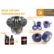 OS GIKEN TCD SUPERLOCK LSD (LIMITED SLIP DIFFERENTIAL)  IS-F INSTALL KIT