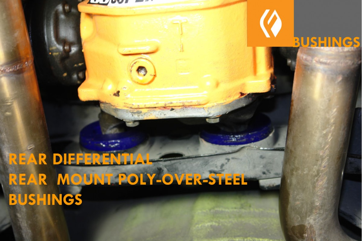 is300 rear differential bushing