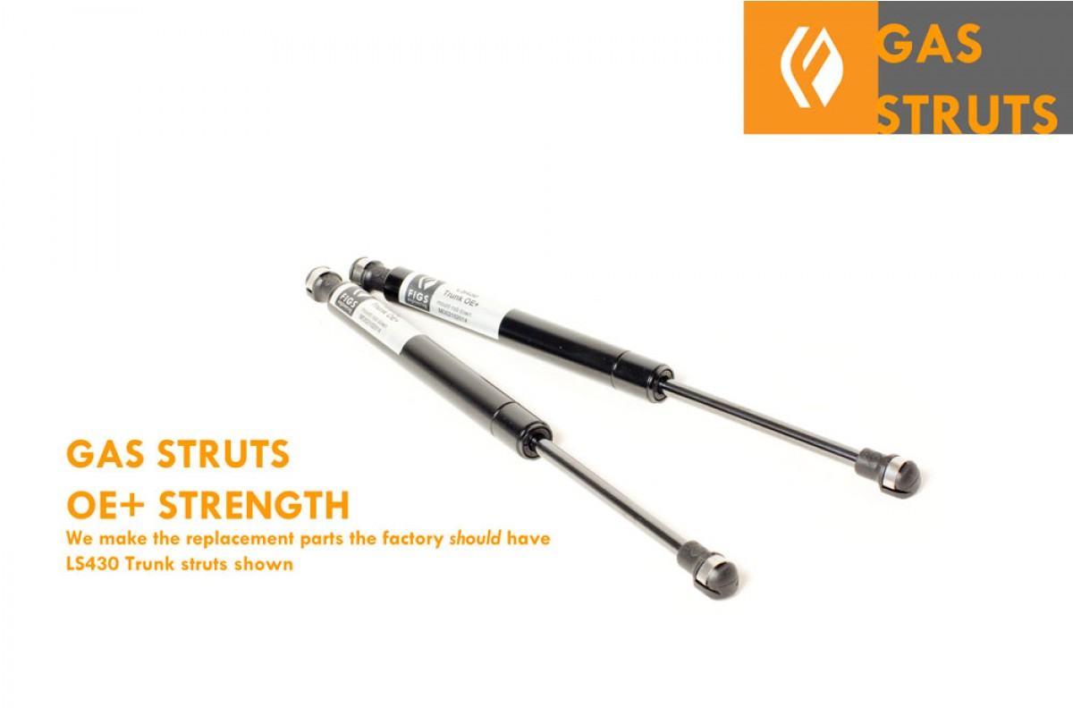 Trunk Lift Supports Gas Struts Springs Props for Lexus LS430 2001-2006 4 Hood