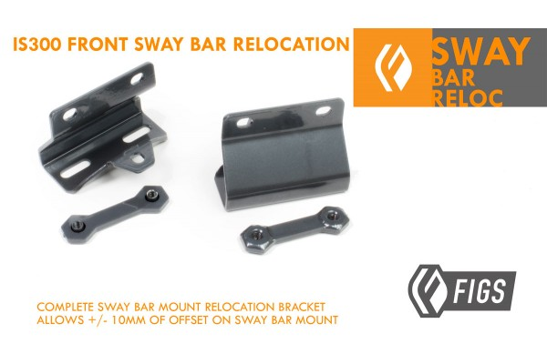 IS300 FIGS FRONT SWAY RELOCATION BRACKET V2