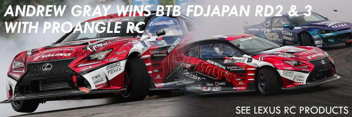 ANDREW GRAY WINS FD JAPAN