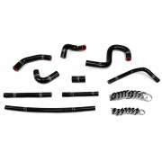 HPS Reinforced Black Silicone Heater Hose Kit Coolant for Toyota 96-02 4Runner 3.4L V6 with rear heater
