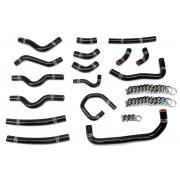 HPS Black Reinforced Silicone Heater Hose Kit Coolant for Toyota 98-02 Land Cruiser 4.7L V8